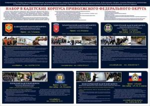 Кадетские корпуса Приволжского федерального округа.